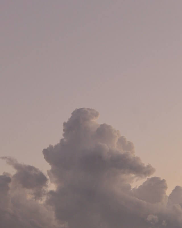 grey clouds wallpaper