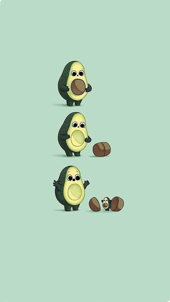 avocado wallpaper, cute wallpapers for iphone