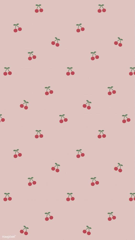 cherry wallpaper, cute wallpapers